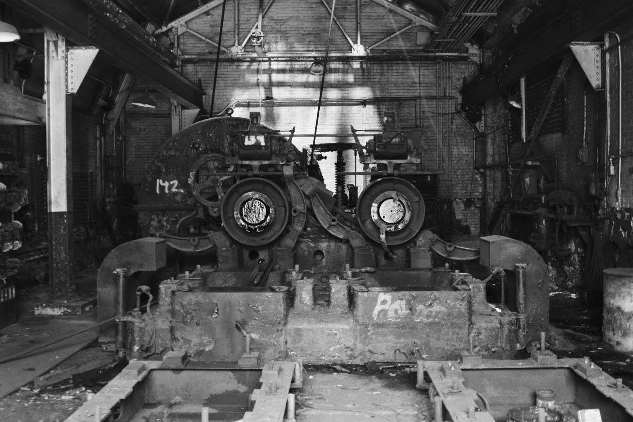 closed Bethlehem steel plant in Pennsylvania