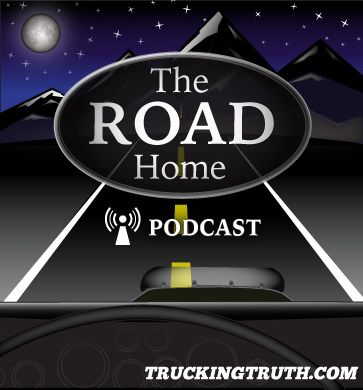truckingtruth.com road home podcast logo