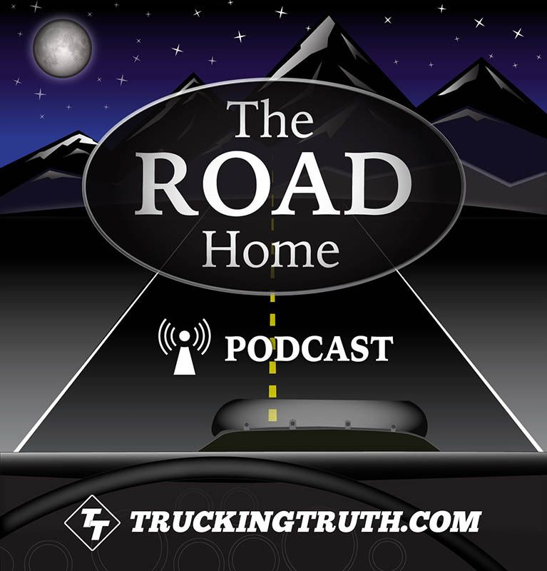 The Road Home Podcast logo