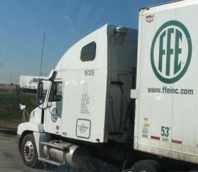 FFE Transport tractor trailer
