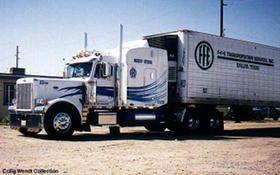 FFE transport truck