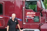 Millis Transfer driving at company-sponsored training