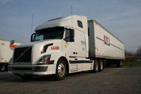 PAM Transport Company-sponsored training truck