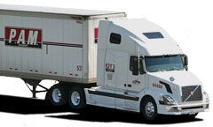 PAM Transport big rig