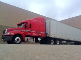 Roehl Transport CDL Training truck
