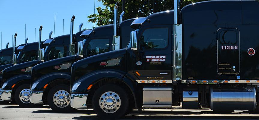 TMC Transportation paid CDL training program truck