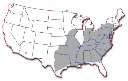 USA Truck hiring zone map
