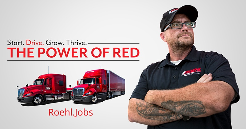 Roehl Paid CDL Training Program Truck And Driver
