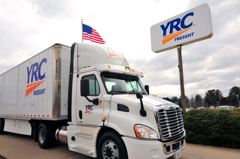 YRC Freight paid cdl training truck